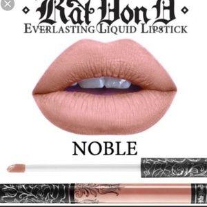 NEW Kat Von D Noble liquid lipstick Noble